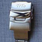 SD 方扣高純度矽膠錶帶 - 迷彩紫白