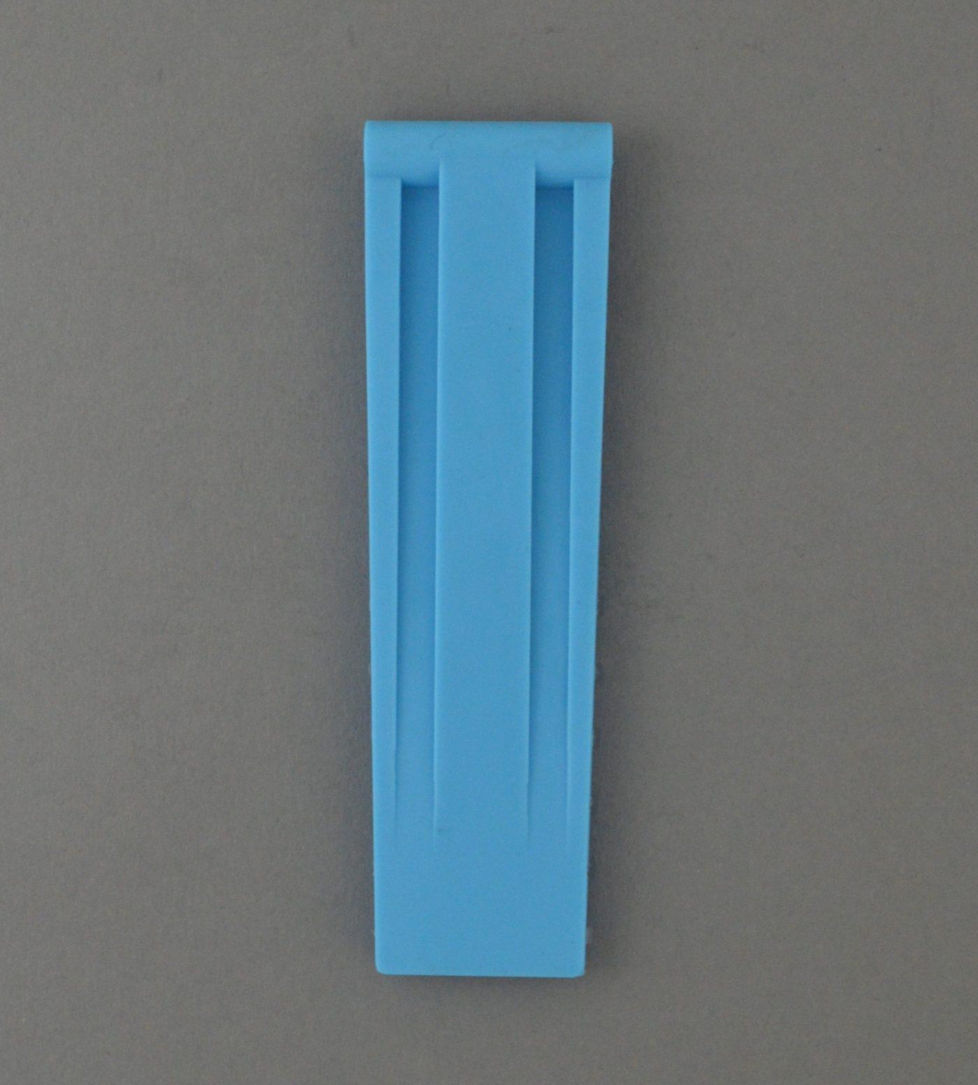 SD 方扣高純度矽膠錶帶 - 北卡藍